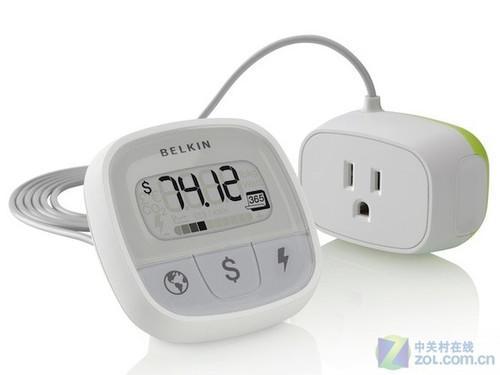 贝尔金推出 时尚数显节电插座