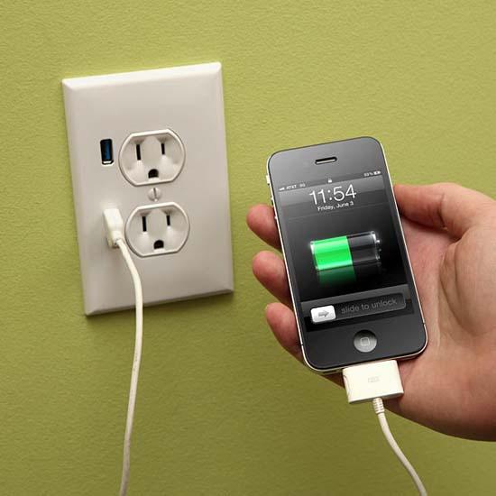 便捷的USB充电插座 给生活带来的方便