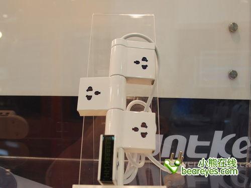 COMPUTEX2010:航嘉展示防涌插座及电源