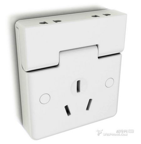 可作收纳的多功能实用插座