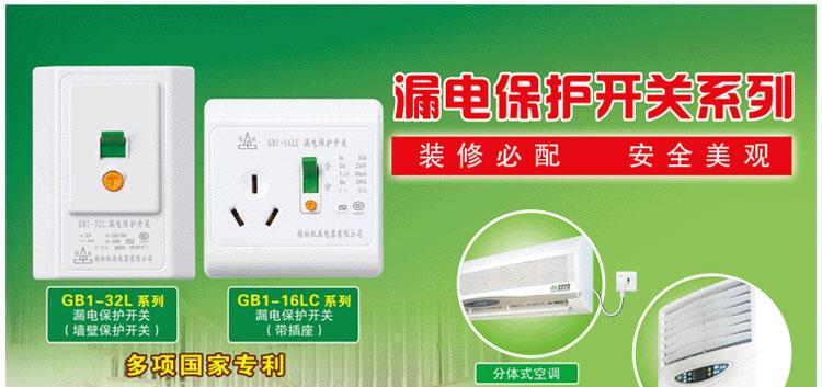 桂林GB1-10LC漏电保护开关