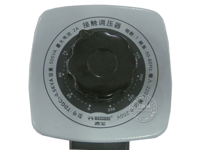 鸿宝(Hossoni)接触式自耦调压器(500W) TDGC2-0.5KVA