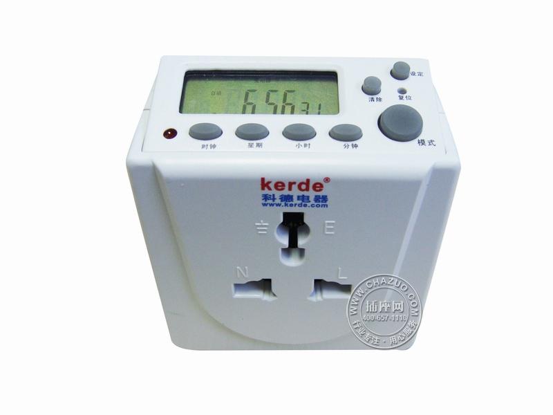 科德(Kerde)24小时电子式定时器节能插座 TW-L12