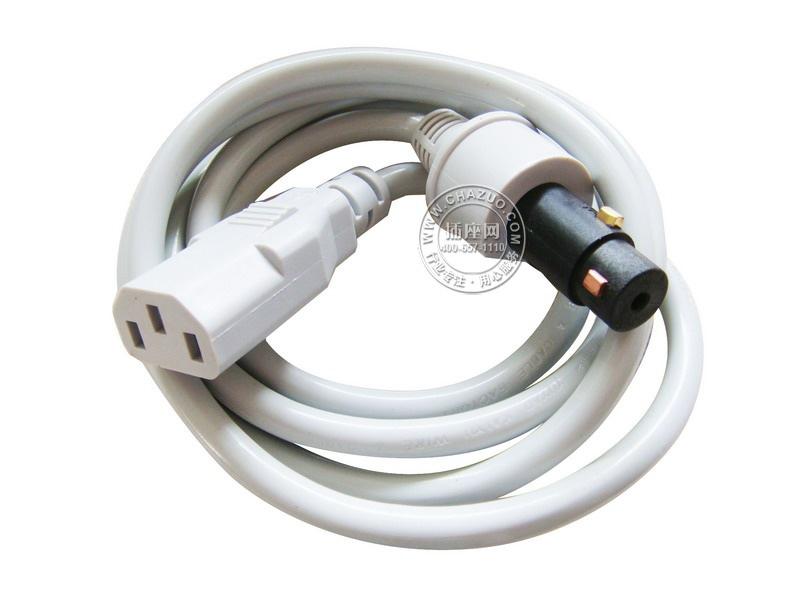 国产(Guochan)10A电脑线连接移动耦合器墙板 防触电 防打火 AS-CH-10DY