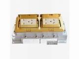 品牌:正旦 Zhengdan 名称:二位二极插座+二位二极带接地插座 型号:DST-230F-1