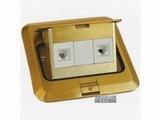 品牌:正旦 Zhengdan&#10名称:二位电话插座&#10型号:DHT-120F-6
