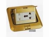 品牌:正旦 Zhengdan&#10名称:一位二极插座+一位多功能插座&#10型号:DHT-120F-5