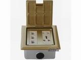 品牌:正旦 Zhengdan 名称:三位安普数据插座+一位二极插座 +一位多功能插座 型号:DHK-127BF-3