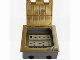 品牌:正旦 Zhengdan 名称:一位二极插座+二位多功能插座+可装(未含)六位弱电功能件 型号:DHK-180F-1