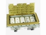 品牌:正旦 Zhengdan 名称:四位多功能插座+四位安普数据插座 型号:DHK-320F-2