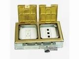 品牌:正旦 Zhengdan&#10名称:二联86型(连面板)&#10型号:DSK-245F-1