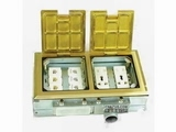 品牌:正旦 Zhengdan&#10名称:二位二极插座+二位多功能插座+六位电话插座&#10型号:DSK-245F-1