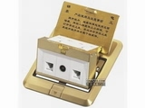 品牌:JOHO JOHO&#10名称:双面强弱电源地面插座&#10型号:DCT-D28/GB