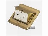 品牌:JOHO JOHO&#10名称:三相四线25A地面插座&#10型号:DCT-628/ZAX