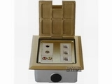 品牌:卓创 Zhuochuang 名称:六位弱电插座 型号:ZC-127BF-2
