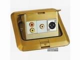 品牌:卓创 Zhuochuang 名称:三位弱电插座 型号:ZC-120F-10