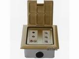 品牌:正旦 Zhengdan 名称:三位电话插座+一位麦克风 +一位视频+一位音频插座 型号:DHK-127BF-2