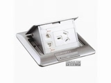 品牌:施耐德奇胜 Clipsal 名称:不锈钢五孔电源地面插座 型号:E224C10/2(ABE)