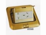 品牌:鸿雁 Hongyan&#10名称:五孔电源地面插座&#10型号:ddz128t60-223A10
