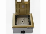 品牌:德力西 Delixi 名称:五孔电源地面插座 型号:DLX-DM-3