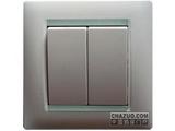 品牌:西蒙 Simtone&#10名称:二位单控开关&#10型号:59021