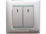 品牌:西蒙 Simtone&#10名称:二位单控开关带灯&#10型号: 59023