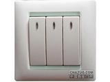 品牌:西蒙 Simtone&#10名称:三位单控开关带灯&#10型号: 59033