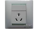 品牌:西蒙 Simtone&#10名称:10A 三孔插座&#10型号:59081