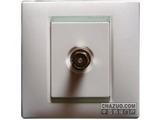 品牌:西蒙 Simtone&#10名称:电视插座&#10型号:59111