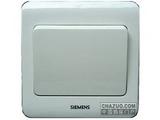 品牌:西门子 Siemens 名称:单联双控大跷板开关 型号:5TA0206-1CC1