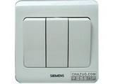 品牌:西门子 Siemens 名称:三联单控大跷板开关 型号:5TA0231-1CC1