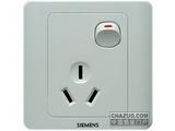 品牌:西门子 Siemens 名称:16A三极带开关插座 型号:5UB0201-1CC1