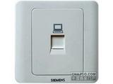品牌:西门子 Siemens&#10名称:电脑插座&#10型号:5TG0121-1CC1