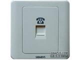 品牌:西门子 Siemens 名称:电话插座 型号:5TG0120-1CC1