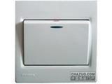 品牌:西门子 Siemens&#10名称:一位双控带荧光超跷板开关&#10型号:5TA0734-1NC1