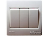 品牌:西门子 Siemens 名称:三位单控跷板开关 型号:5TA0791-1NC1