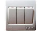 品牌:西门子 Siemens 名称:三位双控跷板开关 型号:5TA0793-1NC1
