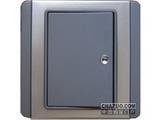 品牌:施耐德奇胜 Clipsal 名称:10A 带LED指示横式大按板单联单控开关(灰+银) 型号:E3031H1(EBGS)