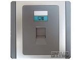 品牌:施耐德奇胜 Clipsal&#10名称:单联八线信息插座(灰+银)&#10型号:E3031RJ5E(GS)