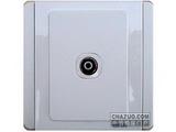 品牌:施耐德奇胜 Clipsal&#10名称:单联带屏蔽罩普通电视插座(灰+银)&#10型号:E3031STVS