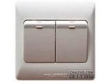 品牌:TCL-罗格朗 TCLLegrand&#10名称:二位双控中按钮开关&#10型号:KG32/2/3C