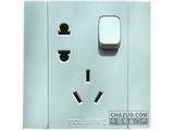 品牌:TCL-罗格朗 TCLLegrand&#10名称:二三极带开关插座&#10型号:L426/10US3