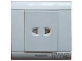 品牌:松下 Panasonic&#10名称:单相一位二极插座&#10型号:WMS112