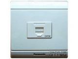 品牌:松下 Panasonic&#10名称:一位八芯通信插座(超5类)&#10型号:WMS421