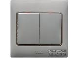 品牌:天基 TianJi&#10名称:二位单控大板开关&#10型号:K272