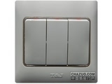 品牌:天基 TianJi 名称:三位大板开关 型号:K273