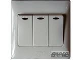 品牌:天基 TianJi&#10名称:三位单控大板开关带灯&#10型号:K273L