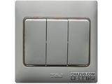 品牌:天基 TianJi&#10名称:三位双控大板开关&#10型号:K273-2