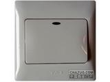 品牌:天基 TianJi 名称:一位双控大板开关带灯 型号:K271L-2
