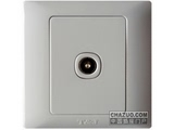 品牌:天基 TianJi&#10名称:防雷电视插座&#10型号:K801TV